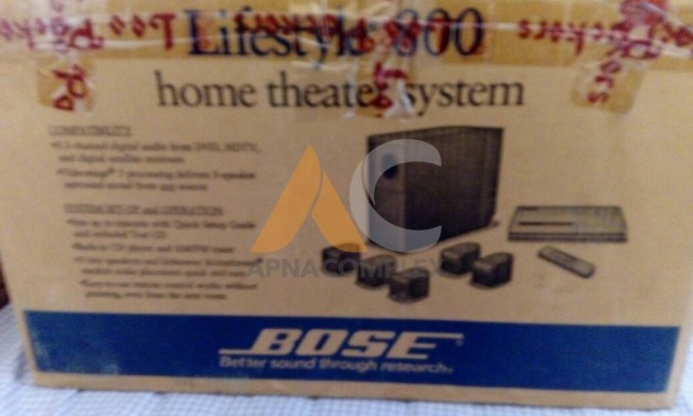 bose 800. bose lifestyle 800 home theater system bangalore price: 45,000 posted by:muralidharan n bose