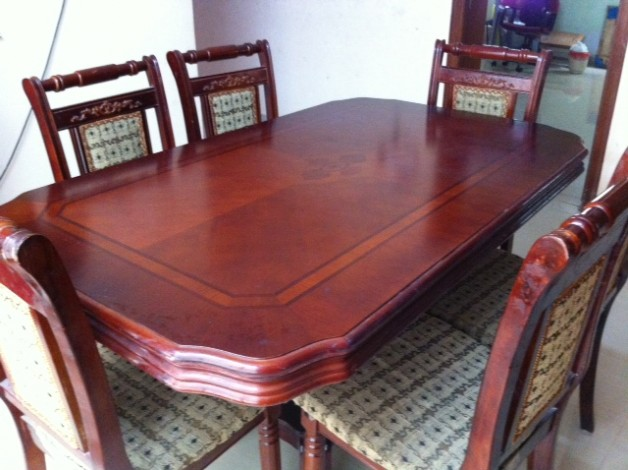Dining Table With 6 Chairs For Sale Hyderabad Price 19000 Posted By Surya