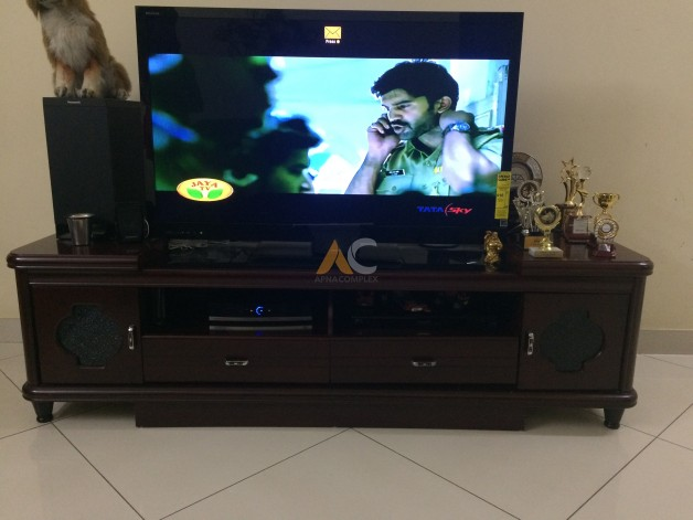 Lcd Tv Stand Designs Bangalore : Solid wood lcd led tv stand for sale apnacomplex classifieds