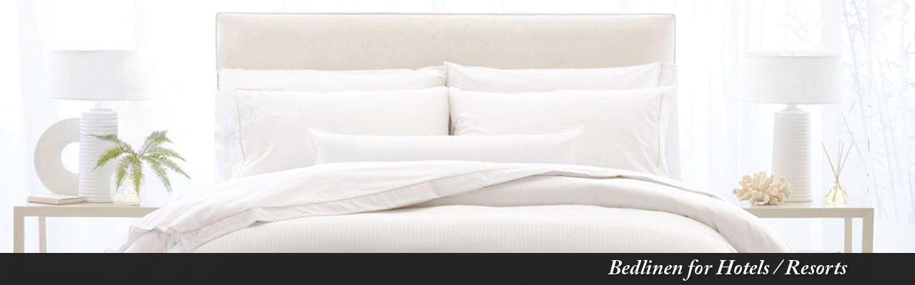 Bedlinen for Hotels / Resorts