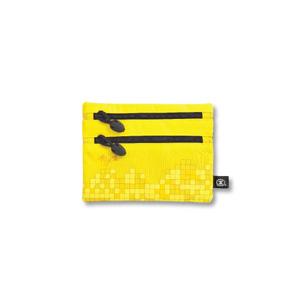 港鐵旅遊精品 <BR>小型雙拉鏈袋-黃色(尖沙咀版)