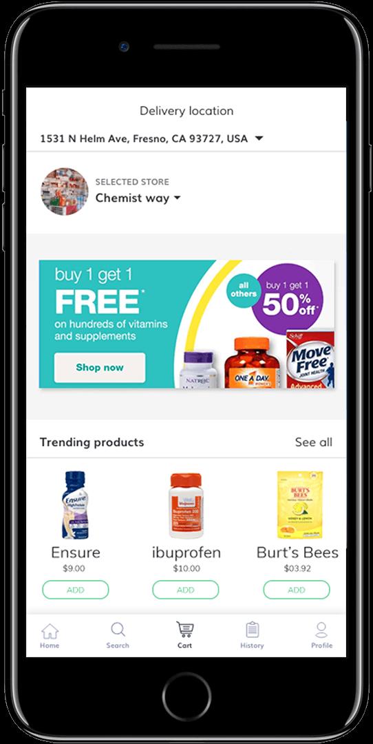 online medical shop software