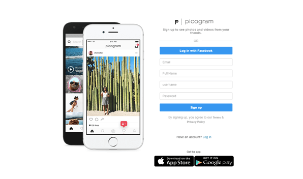 📱 Picogram - Instagram Clone to start your own social media app