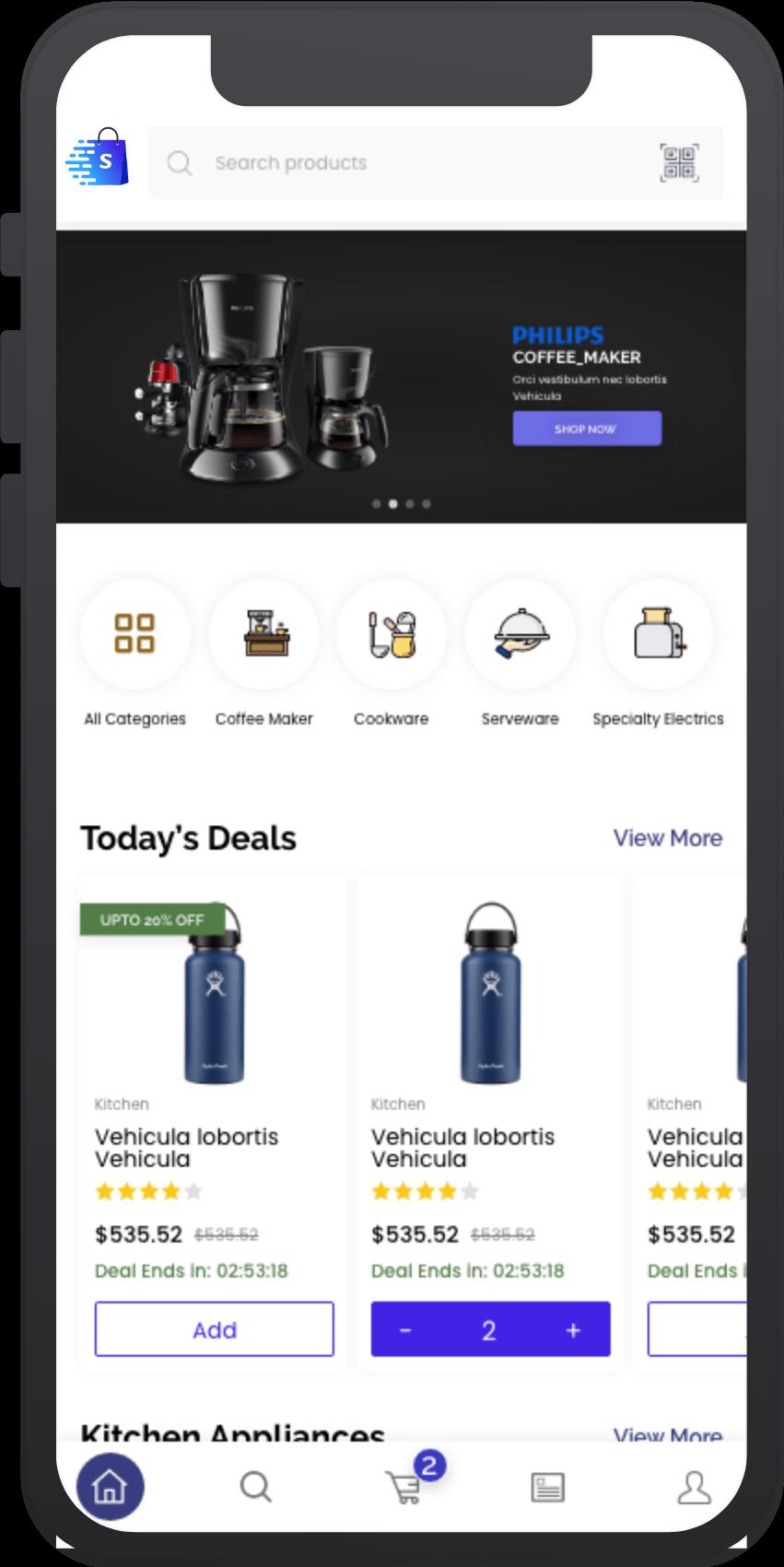 Multi-Vendor eCommerce Marketplace Platform Multi-Vendor eCommerce Marketplace Platform | With Customer, Store & Driver App
