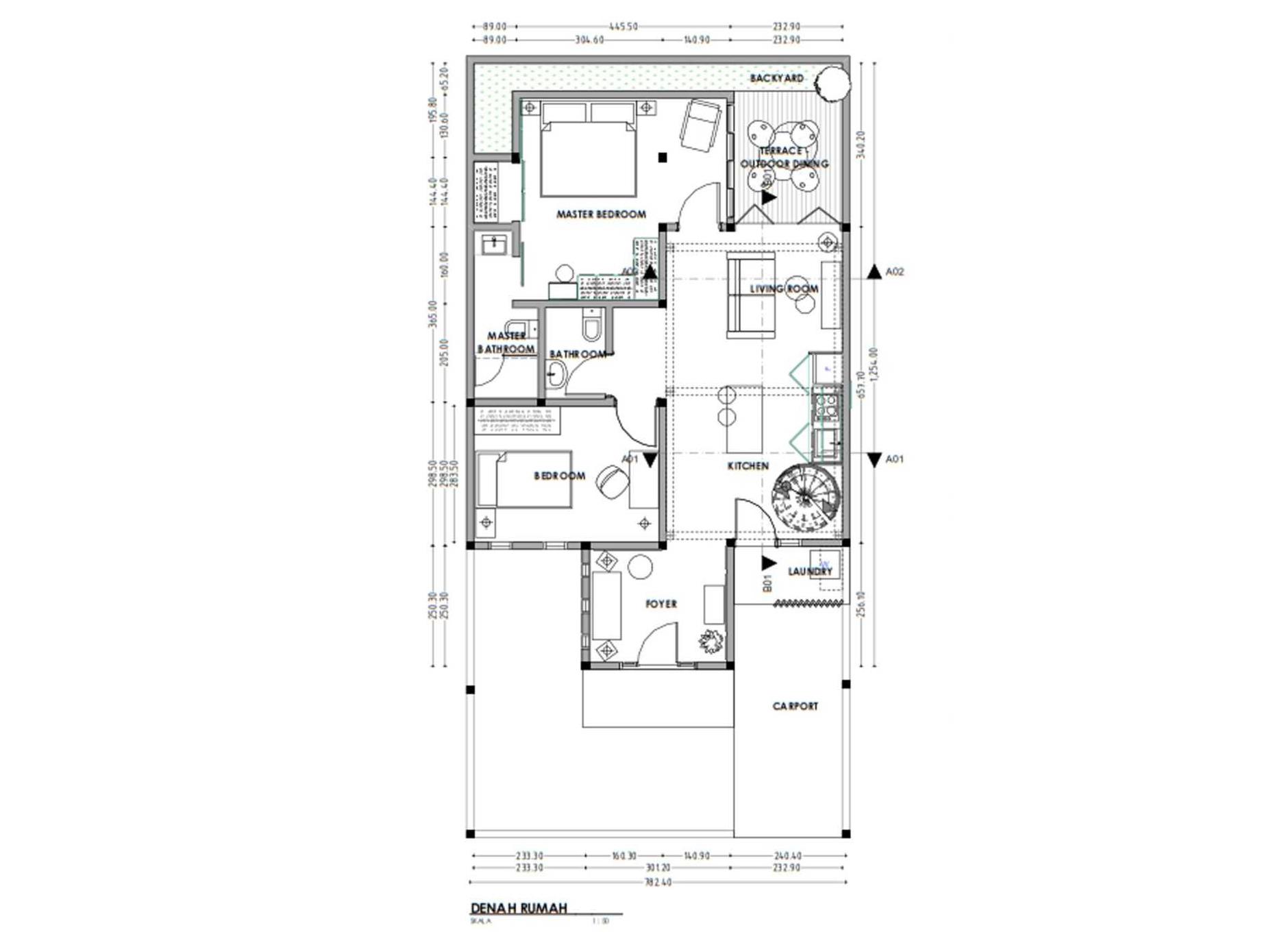 Ide Terbaru Denah Rumah Minimalis Modern 2017 2018 Arsitag