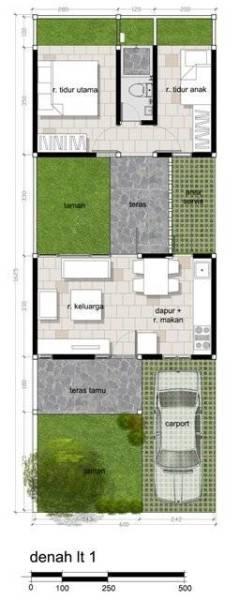 Ide Terbaru Denah Rumah Minimalis Modern 2017 2018 Arsitag Blog