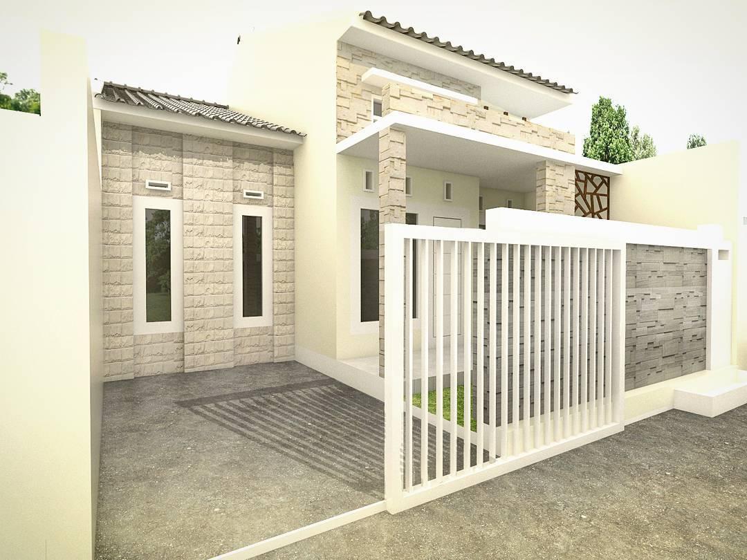 inilah model bentuk pagar rumah minimalis 2017 - arsitag blog
