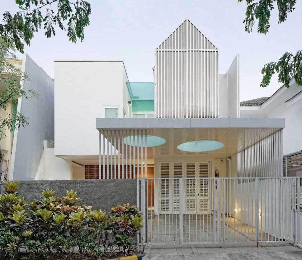 Inilah Model Bentuk Pagar Rumah Minimalis 2017 Arsitag Blog