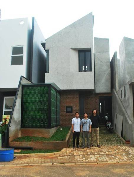 Model Desain Rumah Minimalis Ngetrend 2017 Arsitag Blog 2 Lantai