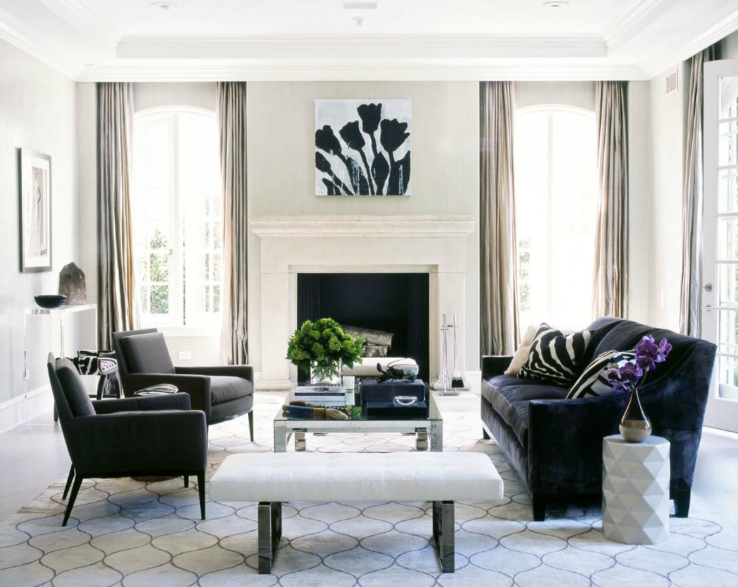 keseimbangan antara simetri dan asimetri oleh fiorito. Black Bedroom Furniture Sets. Home Design Ideas