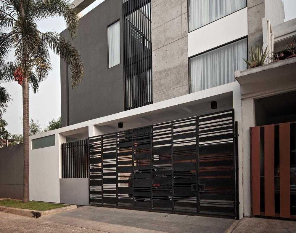 Desain Pagar Rumah Minimalis Sederhana Namun Menawan - ARSITAG