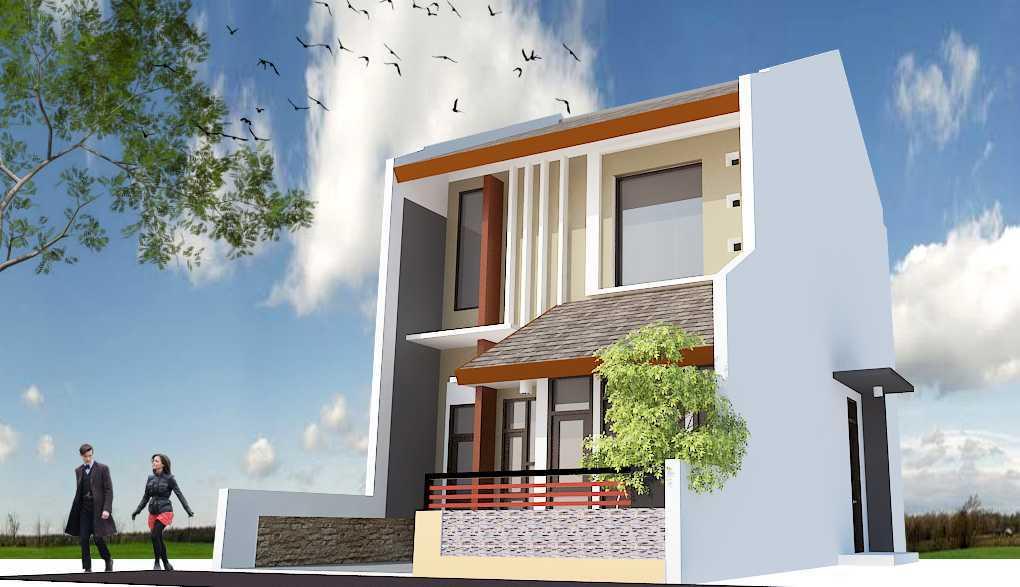 Model Desain Tampak Depan Rumah Minimalis 2 Lantai Yang Mungil Dan Modern Arsitag