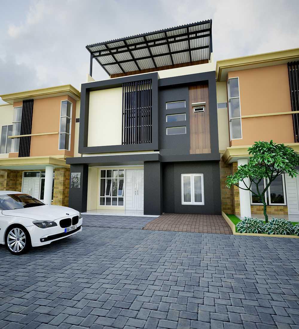12 Desain Rumah Minimalis Modern 2 Lantai Mewah: Model Desain Tampak Depan Rumah Minimalis 2 Lantai Yang