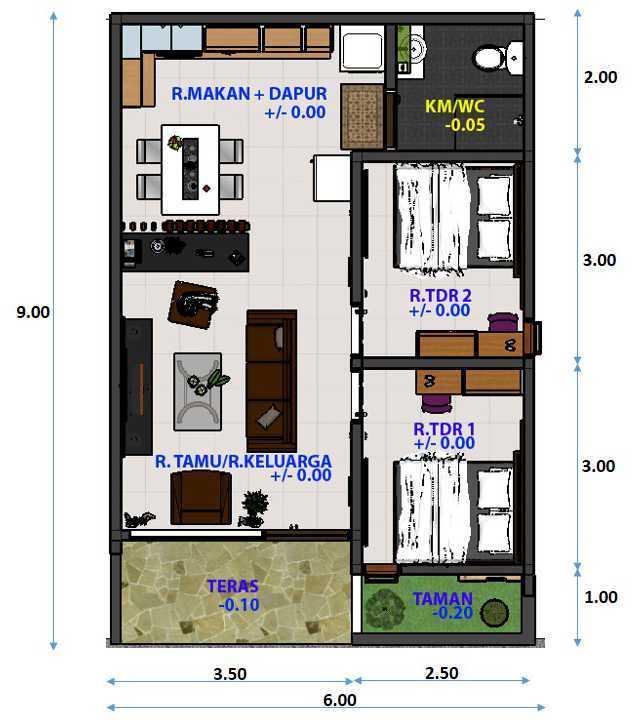 Desain Rumah Minimalis Luar Dan Dalam  125 model desain rumah simple terlihat keren flags