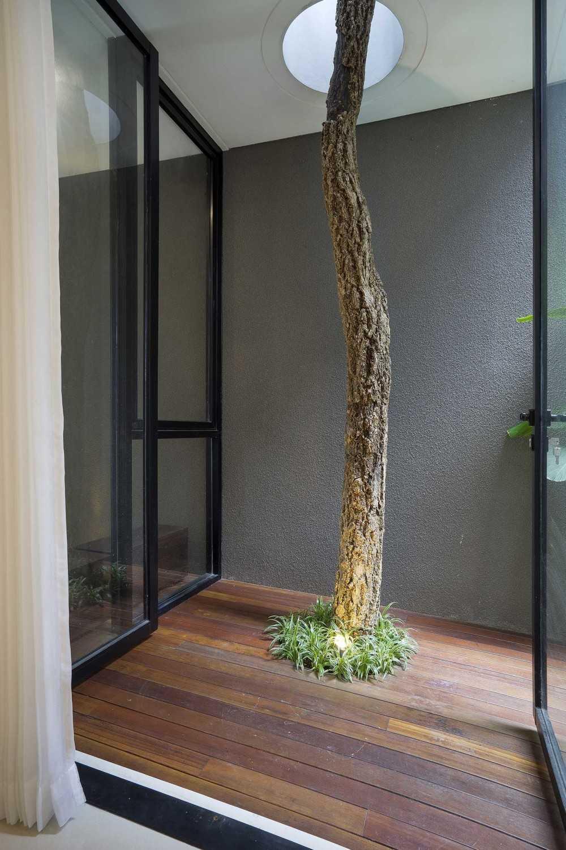 Foyer Modern Minimalis : Desain taman rumah minimalis di lahan sempit dengan