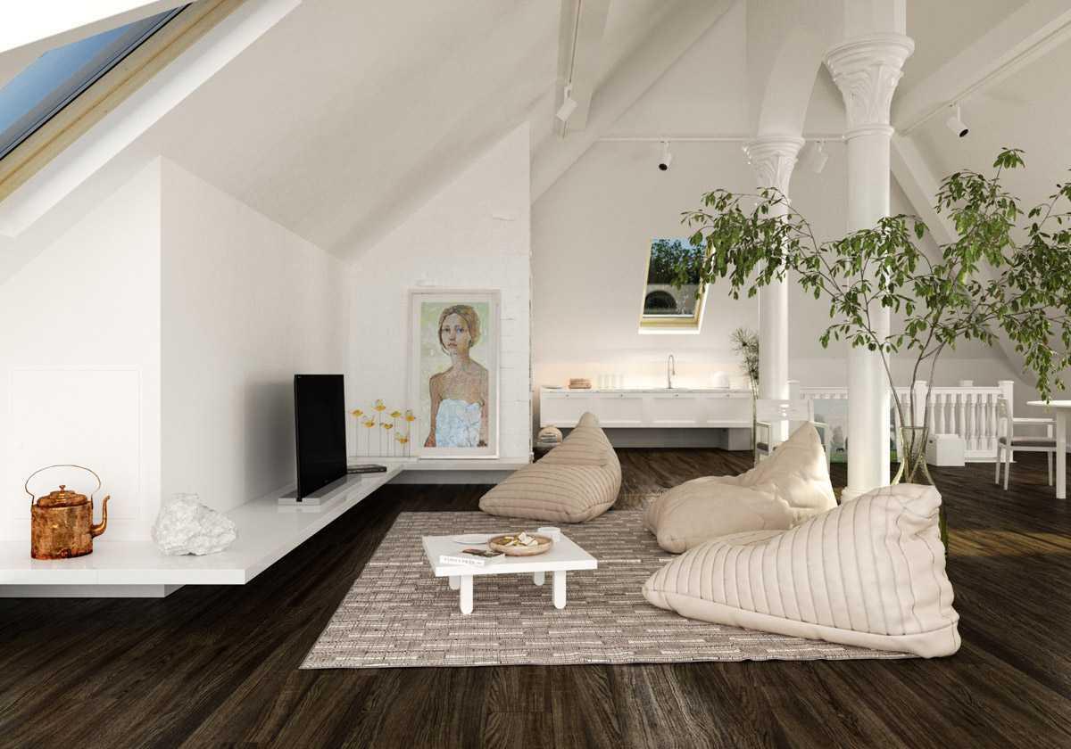 Desain Interior Ruang Tamu Tanpa Kursi Yang Cantik Dan Kreatif Arsitag