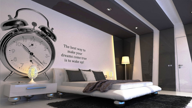 Desain dinding kamar tidur (Sumber: homegoid.com)