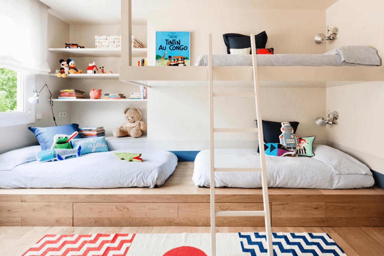 10 tips mengajarkan anak dalam menata kamar tidur bersama - arsitag