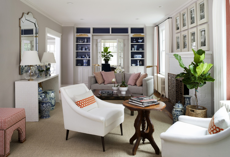 Desain Ruang Keluarga Memanjang Sobat Interior Rumah