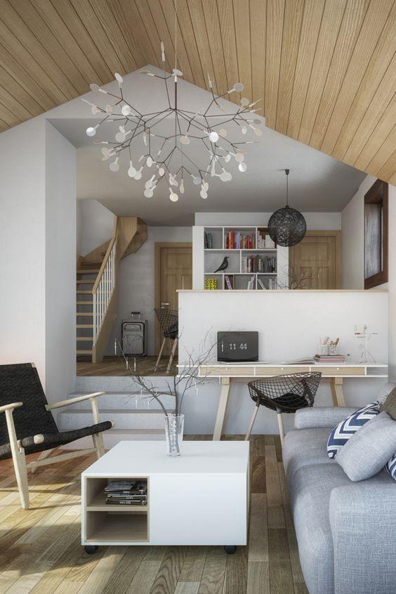 Desain ruang tamu kabin (Sumber: behance.net)