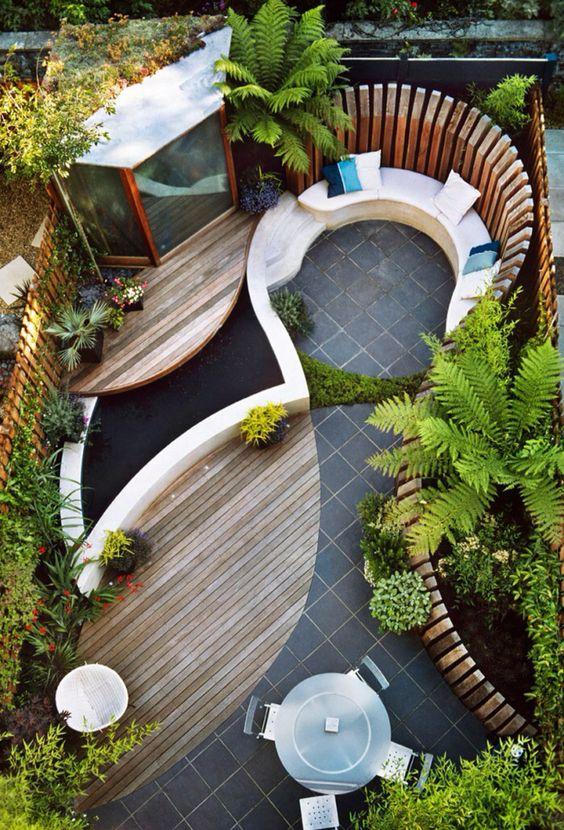 Ruang duduk outdoor (Sumber: decorfacil.com)