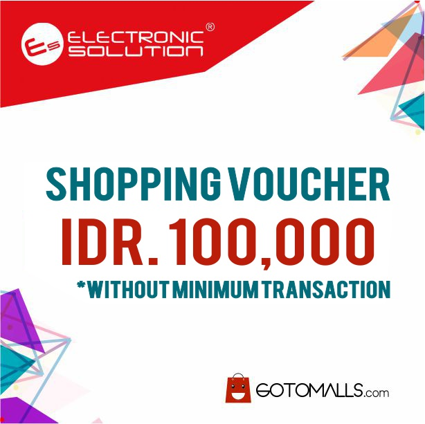 Voucher Rp. 100.000 From Electronic Solution