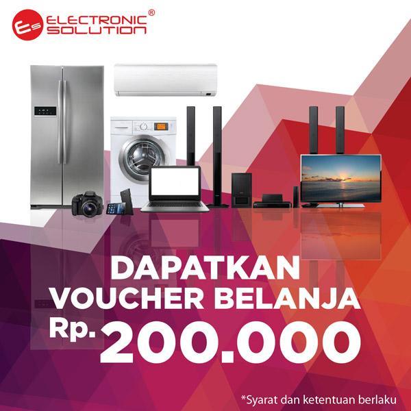 Voucher Belanja 200.000 dari Electronic Solution