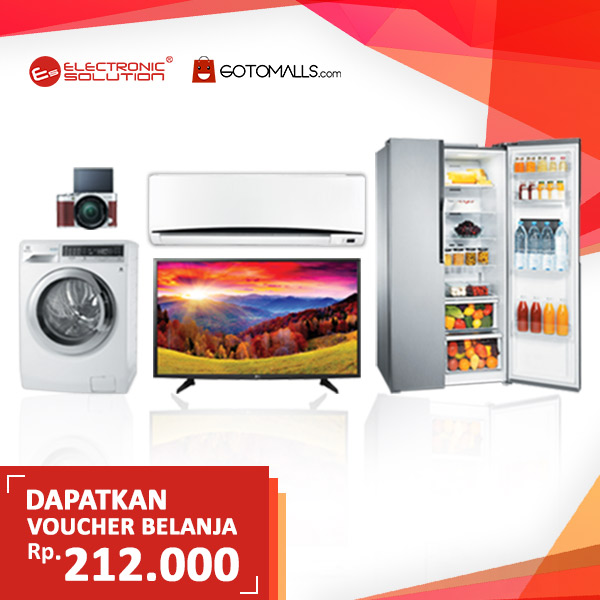 Shopping Voucher Rp 212,000 from Electronic Solution