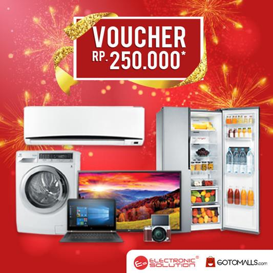 Shopping Voucher Rp 250,000 from Electronic Solution