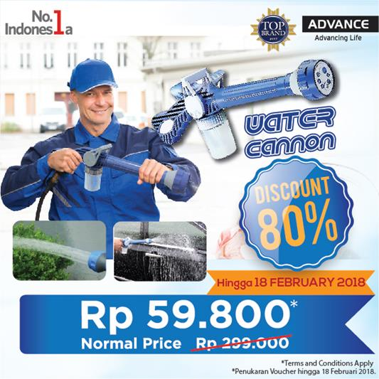 Voucher Discount 80% Water Cannon at ADVANCE Gallery</h3>