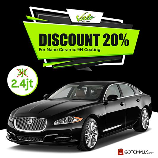 Discount 20% for Nano Ceramic 9H at Valo Car Care