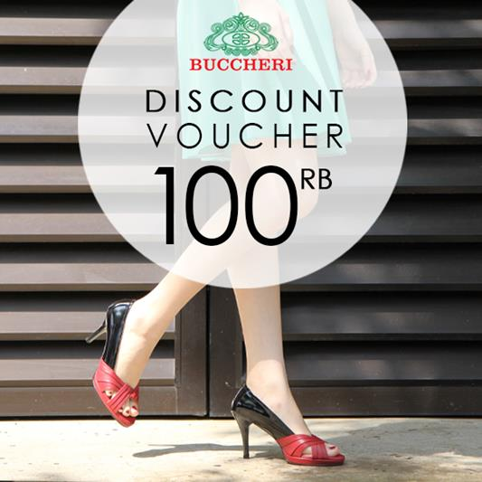 Voucher Discount Rp 100.000 at Buccheri</h3>
