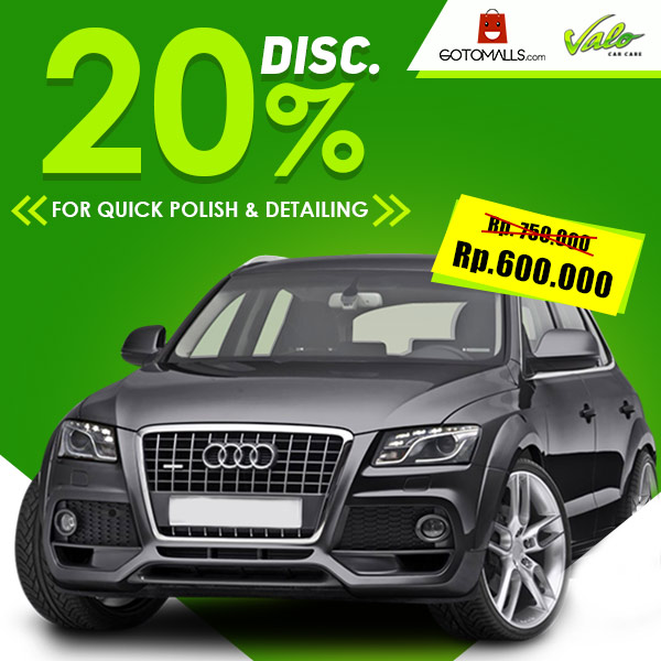 Discount 20% Quick Polish & Detailing from Valo Car Care