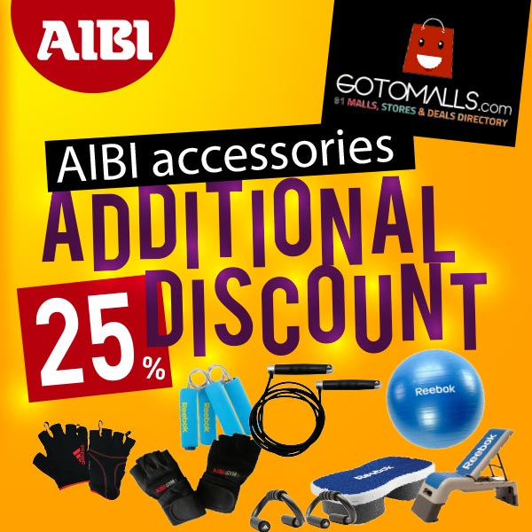Coupon Discount 25% from AIBI