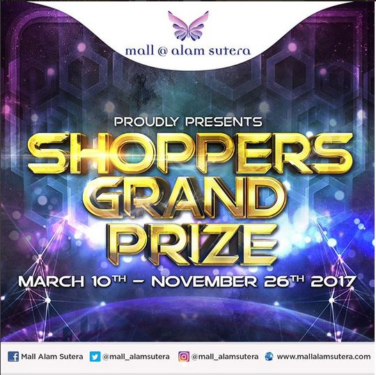 Shoppers Grand Prize at Mall @ Alam Sutera
