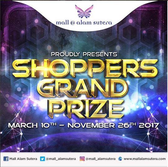 Shoppers Grand Prize di Mall @ Alam Sutera