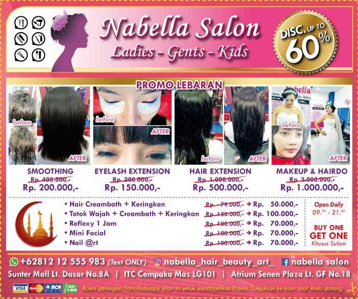 discount up to 60 from nabella salon rh gotomalls com salon di plaza atrium senen salon kecantikan di plaza atrium senen