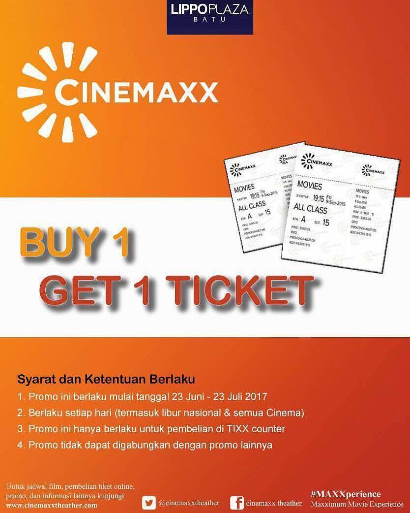 Buy 1 get 1 free ticket from cinemaxx lippo plaza batu gotomalls buy 1 get 1 free ticket from cinemaxx lippo plaza stopboris Choice Image