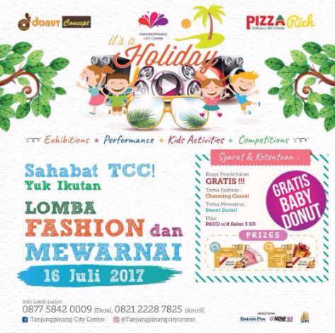 Fashion And Coloring Competition At Tanjungpinang City