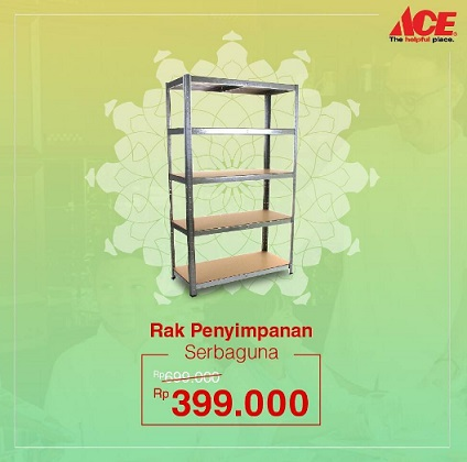 Special Price For Storage Shelf From Ace Hardware Ayani Megamall