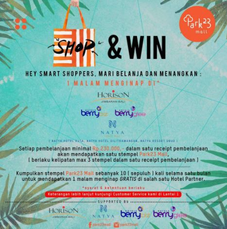 SHOP & WIN at Park23