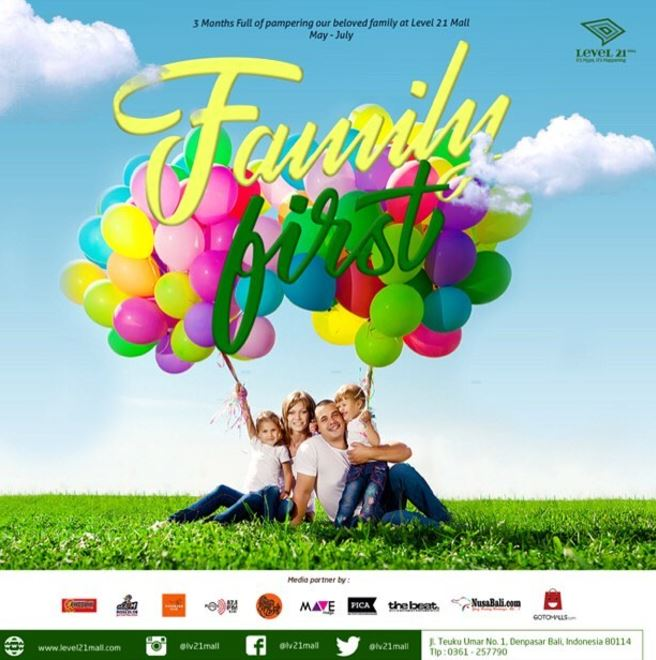Family First Event at Level 21 Mall