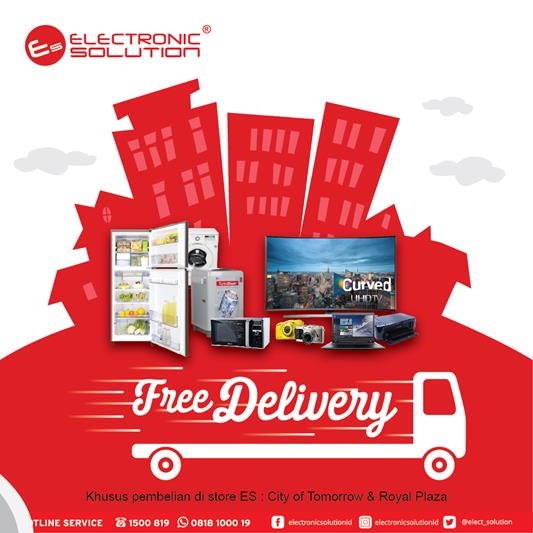 Free Delivery area Surabaya from Electronic Solution