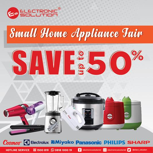 Small Home Save Up To 50% from Electronic Solution</h3>
