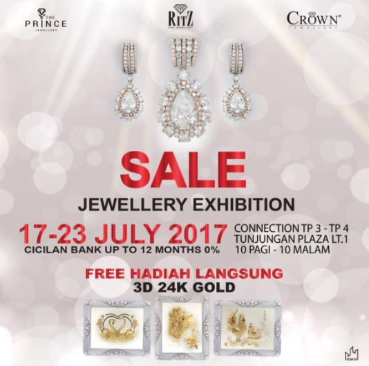 Sale Jewellery Exhibition at Tunjungan Plaza