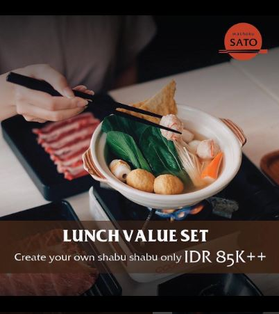 Lunch Packages from Washokusato</h3>