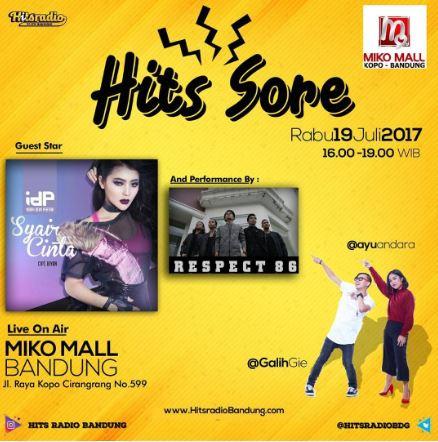 Hits Sore at Miko Mall Bandung