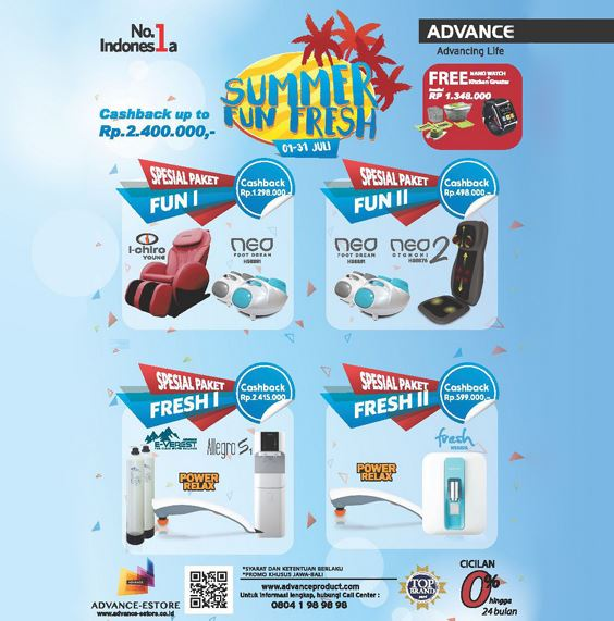 Summer Fun Fresh Promo from Advance</h3>