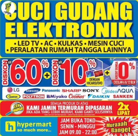 Cuci Gudang Elektronik Dari Hypermart Di Plaza Indonesia Juli 2017 Gotomalls