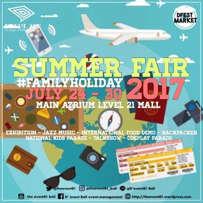 Summer Fair 2017 at Level 21 Mall